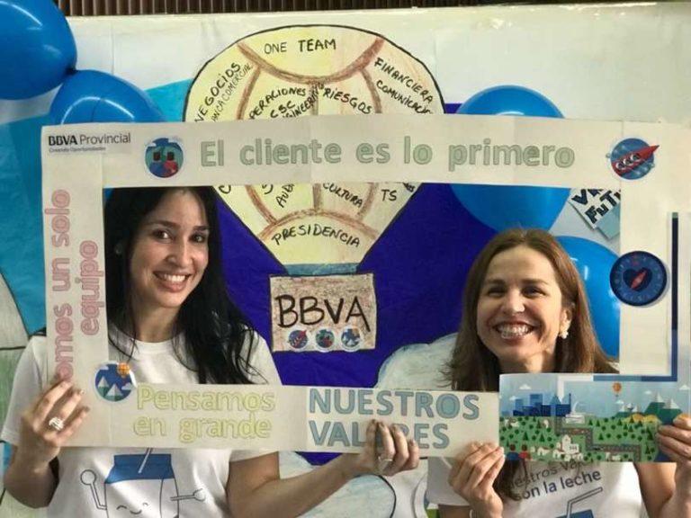 Colaboradores con marco de valores BBVA Provincial
