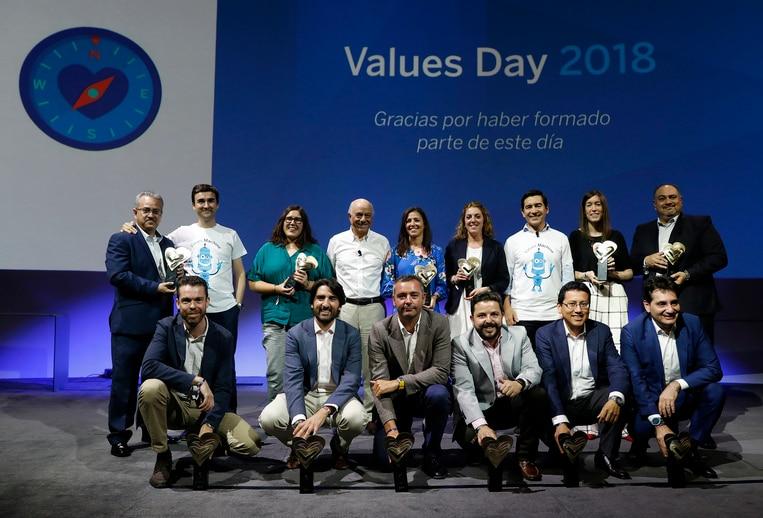 José Miguel Sánchez en los premios ViVa BBVA Provincial