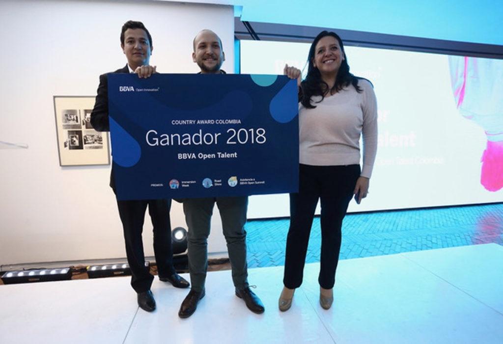 Prestagente ganador Open Talent Colombia 2018