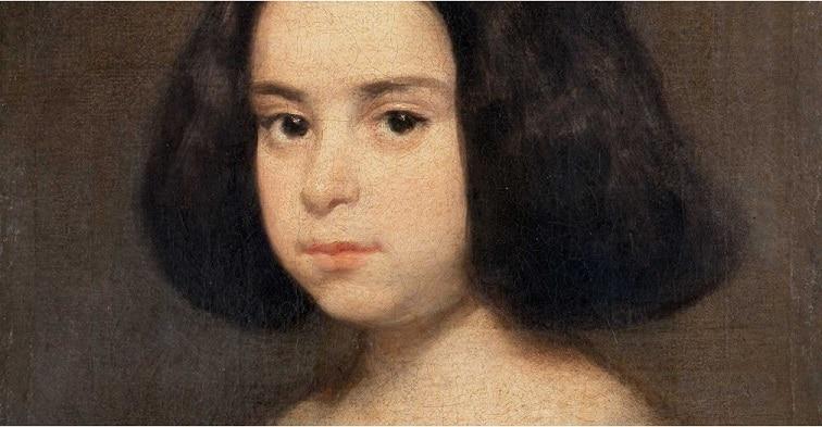 Retrato de niña Diego Velázquez 1638-44 Hispanic Society of America