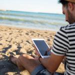 e-books, books, leer, vacaciones, playa, descanso recurso bbva