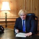 Boris Johnson resigns