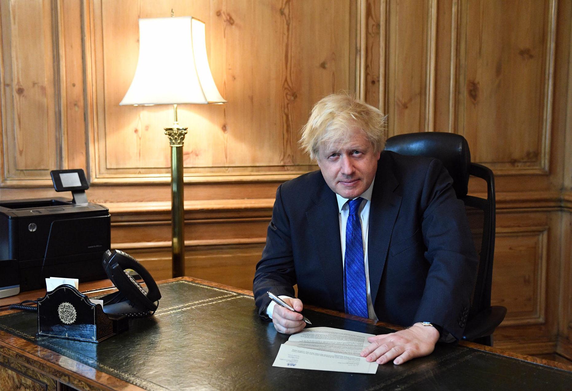 Boris Johnson resigns