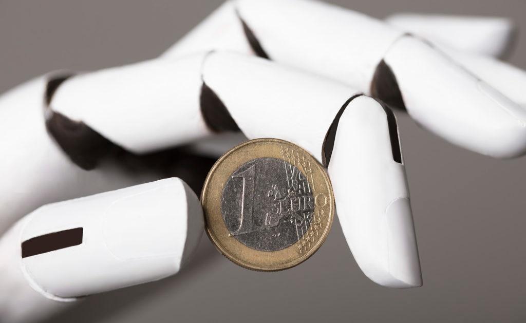 inteligencia-artificial-robot-euro-dinero-automatizacion-bbva
