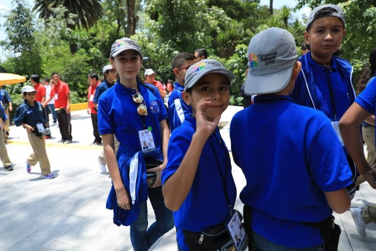 Ganadores de la Olimpiada 2018 en el Museo del Niño