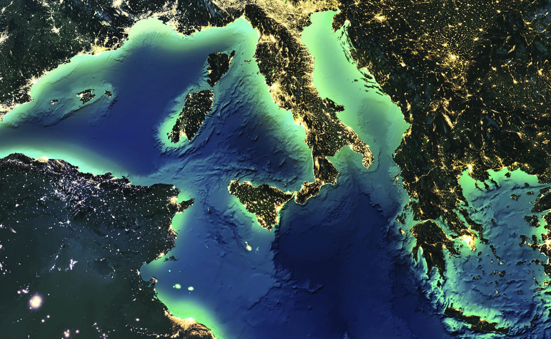 Fotografía de Italia-BBVA, mundo, mapa