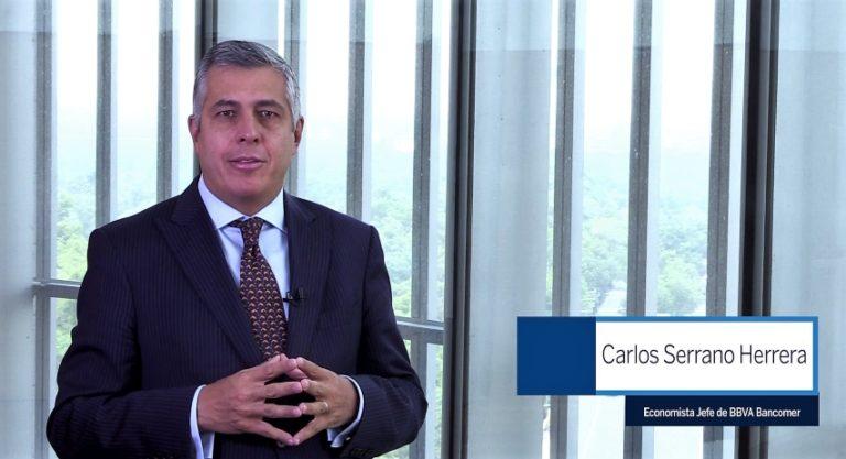Carlos Serrano Herrera, Economista jefe de BBVA Bancomer