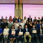 Foto ganadores la beca Fundacion BBVA Bancomer y Colmex