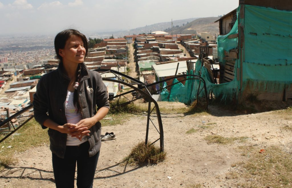 Fotografía de Jessica Hernández, emprendedora de Bancamía FMBBVA