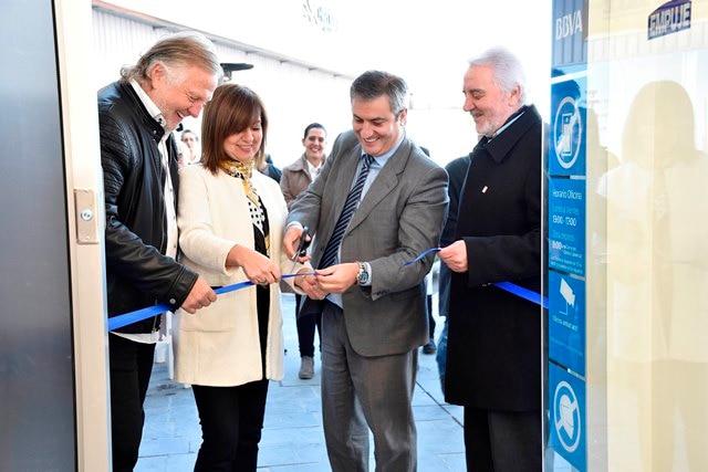Inauguración oficina BBVA Uruguay