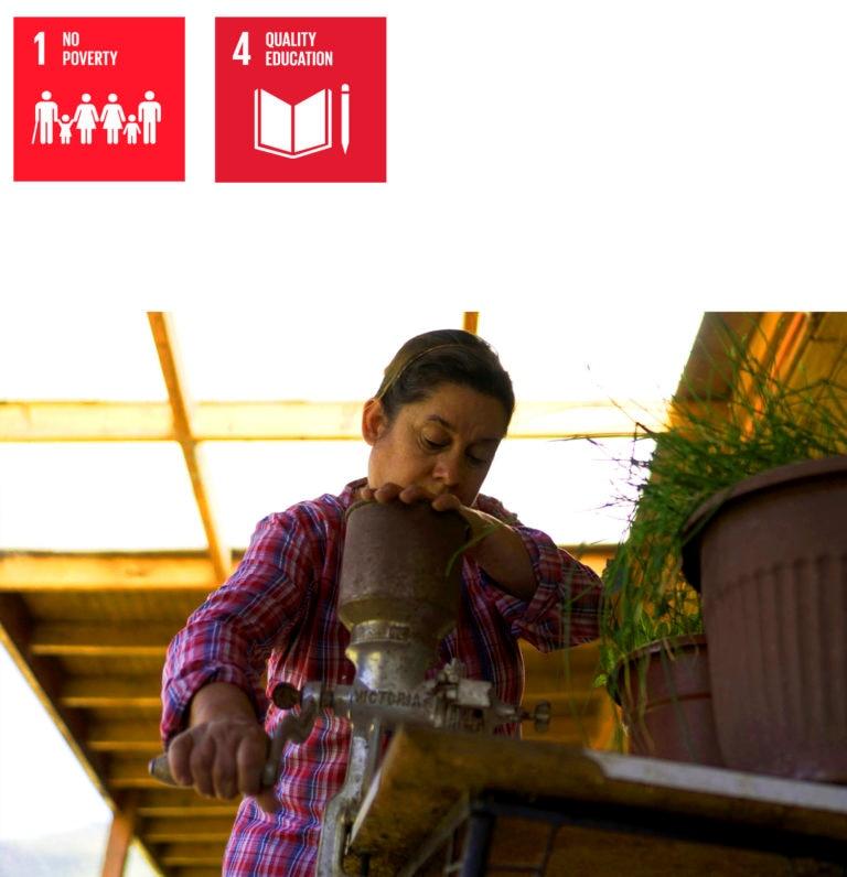 Picture of SDG Marcela Aedo, BBVAMF entrepreneur