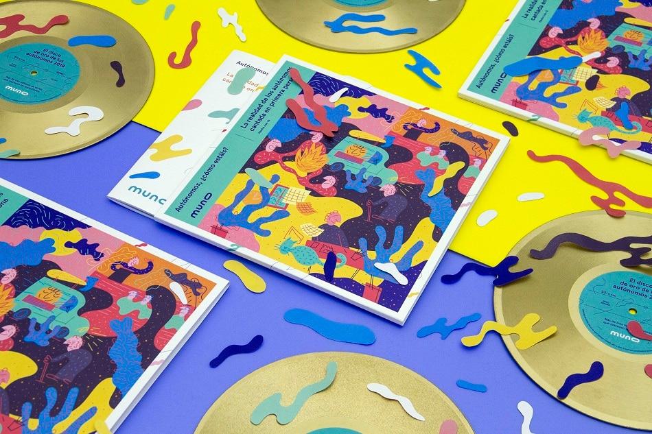 disco de oro de los autónomos muno canciones musica recurso bbva