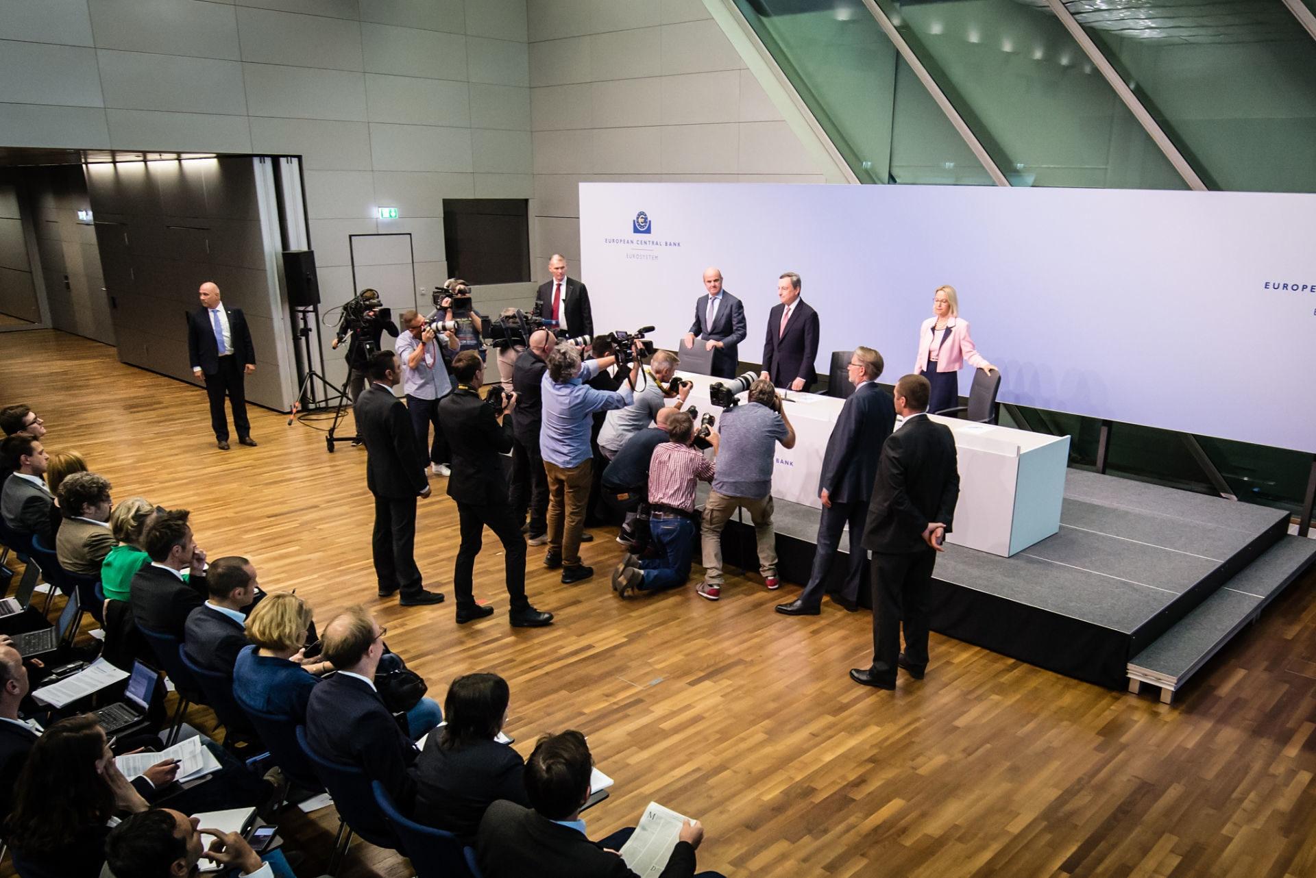 BCE - Mario Draghi - banco Central Europeo