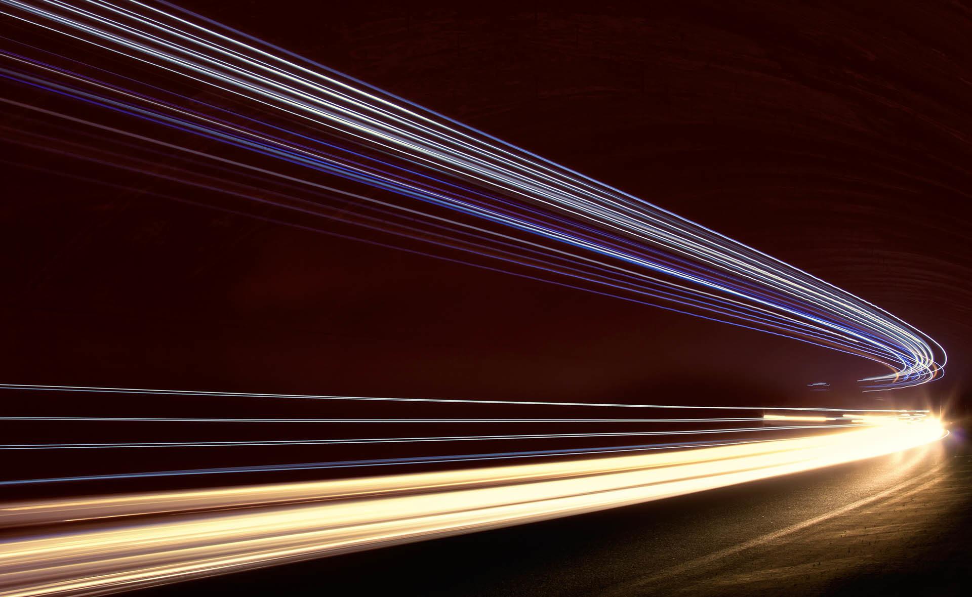 fotografía de la velocidad de la luz BBVA