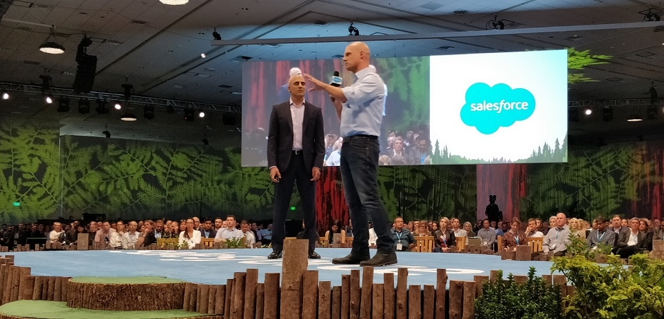 Derek White, Client Solutions BBVA, at Dreamforce