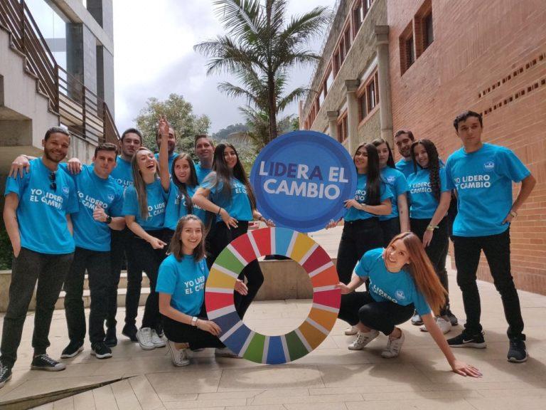 Jóvenes lideres en Lidera el Cambio, evento patrocinado por BBVA