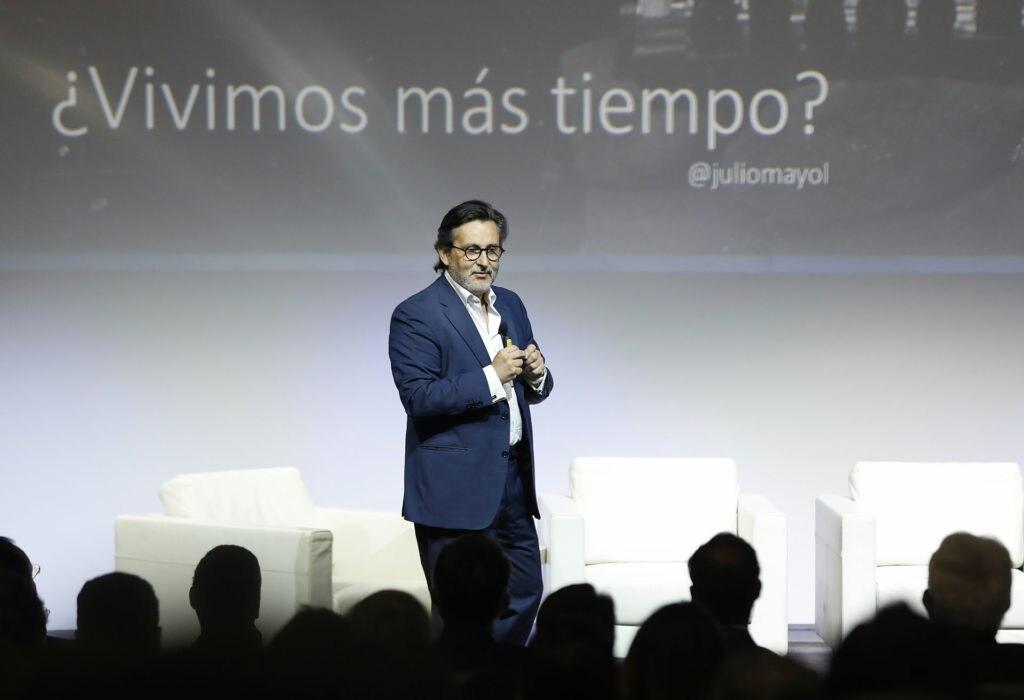 Imagen de Julio Mayol, VIII Jornada Previsión BBVA 2018