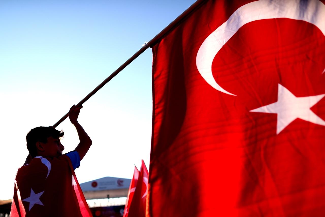 EFE- bandera turquia bbva