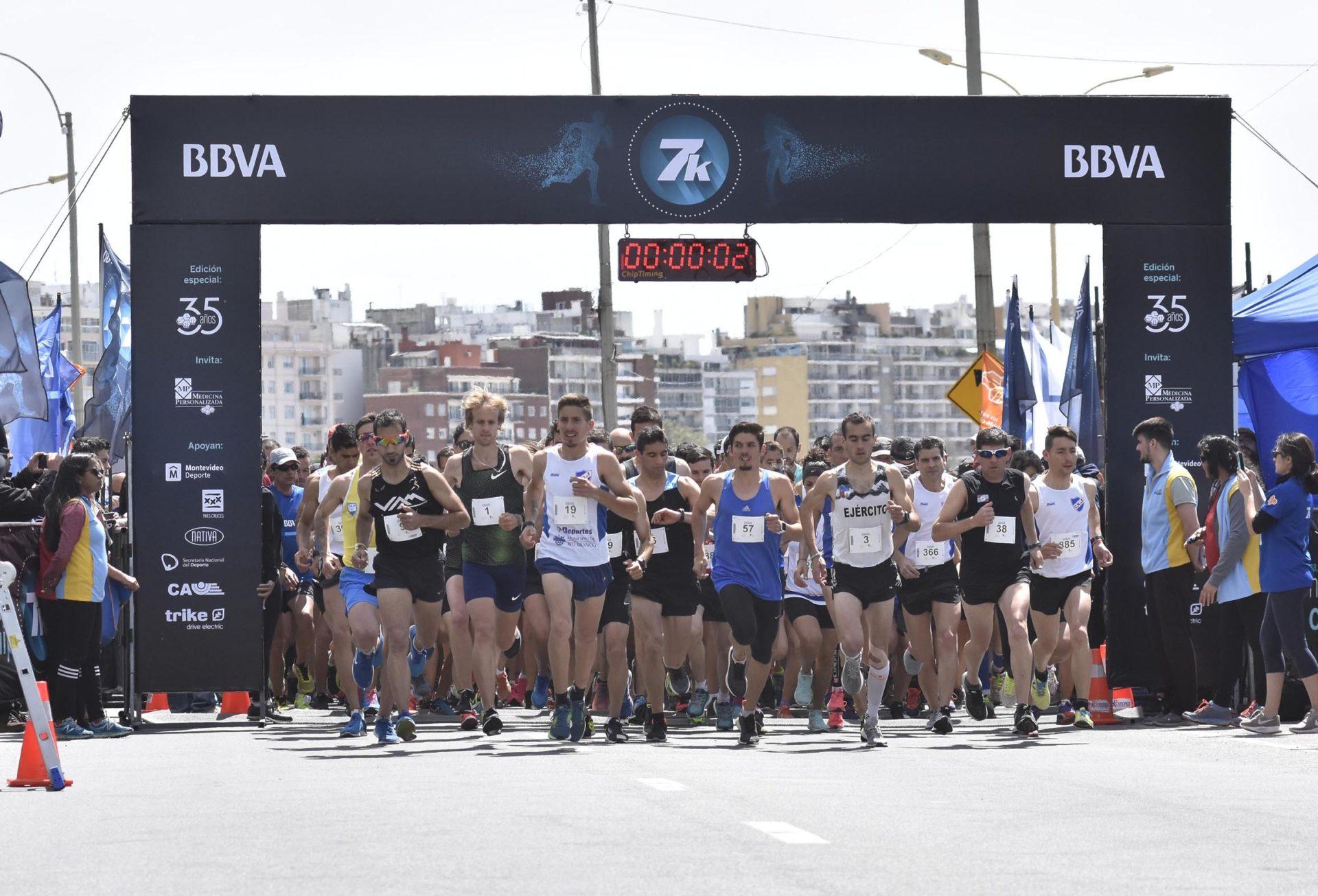 Carrera 7K BBVA Uruguay 2018