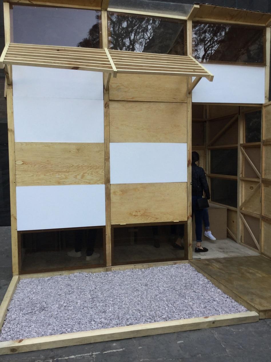 Construcción a escala real estudiantes IBERO