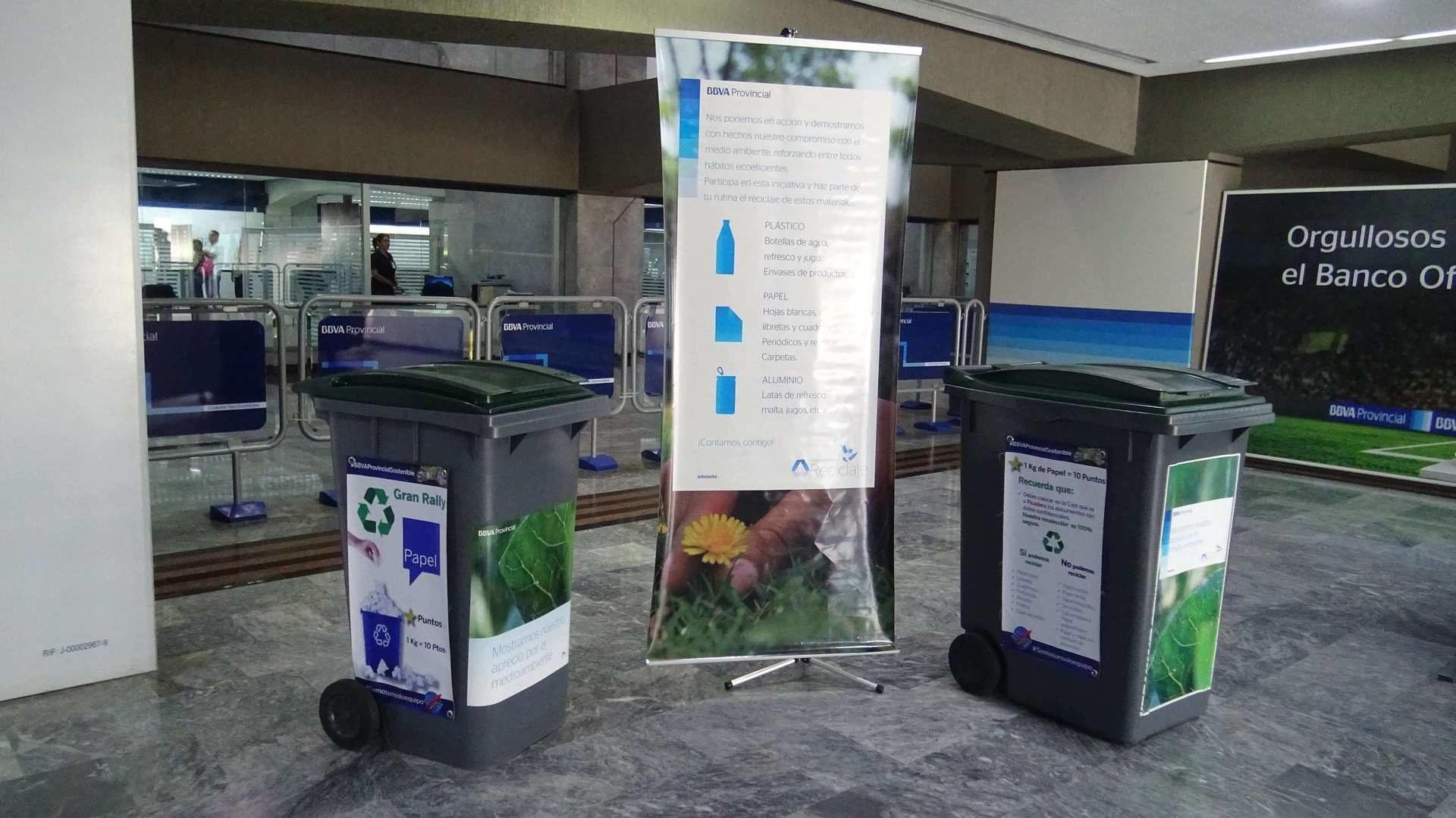 BBVA Provincial reciclaje