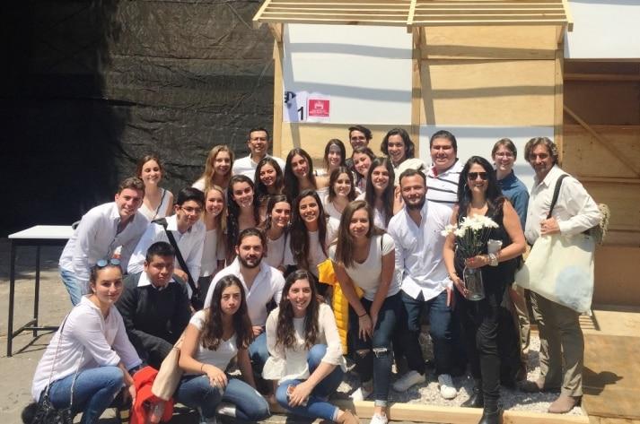 Equipo ganador en la 21 edición del Taller de Luis Barragán
