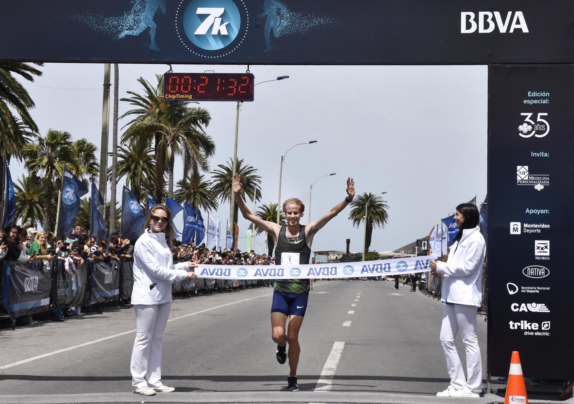 Ganador carrera 7K BBVA 2018