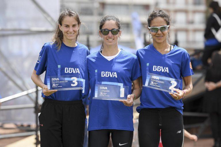 Ganadoras rama femenima carrera 7K BBVA 2018