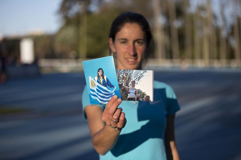 Ma Pía Fernández, atleta uruguaya