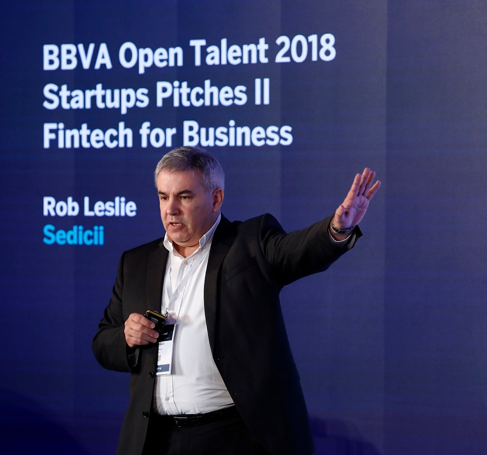 Rob Leslie Sedicii ganador bbva open talent emprendimiento startup recurso bbva