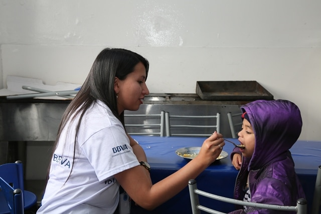 Semana del voluntariado BBVA Colombia
