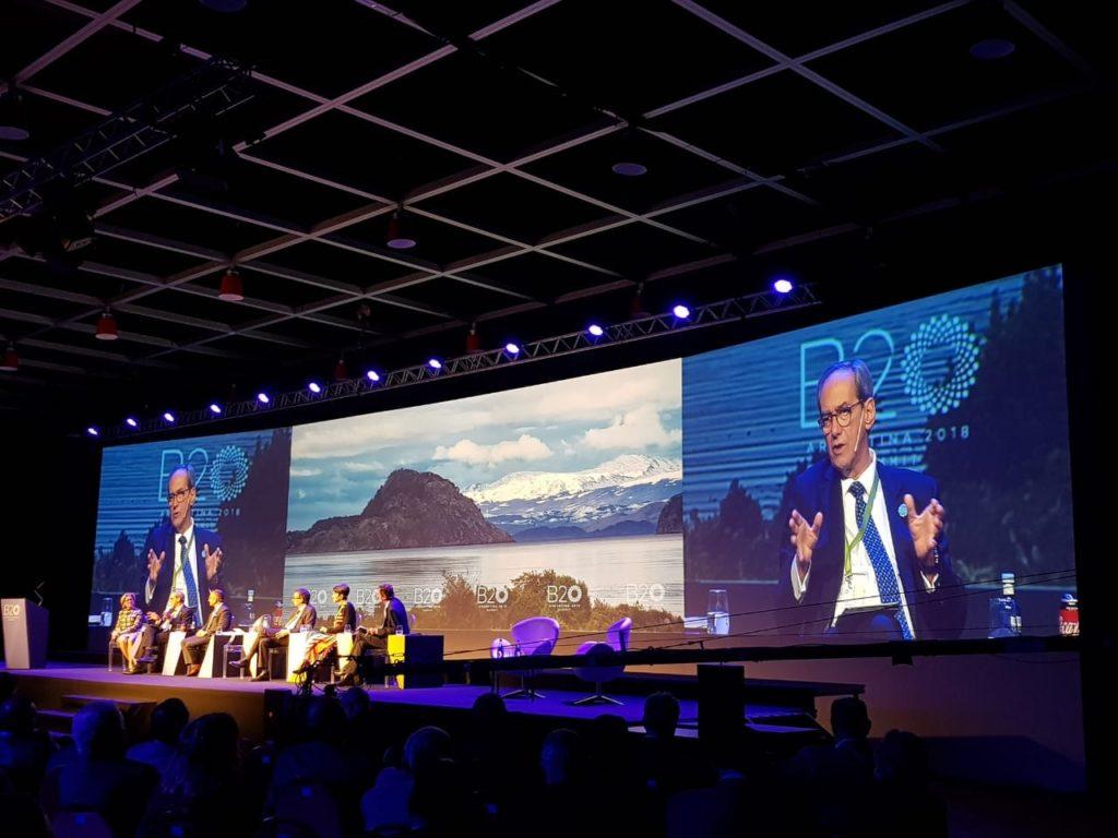 Cumbre del B20: Las empresas defienden una economía inclusiva y sostenible