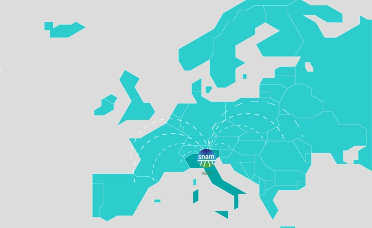 Fotografía de Italia, mapa, Europa, azul, snam, gas, plano