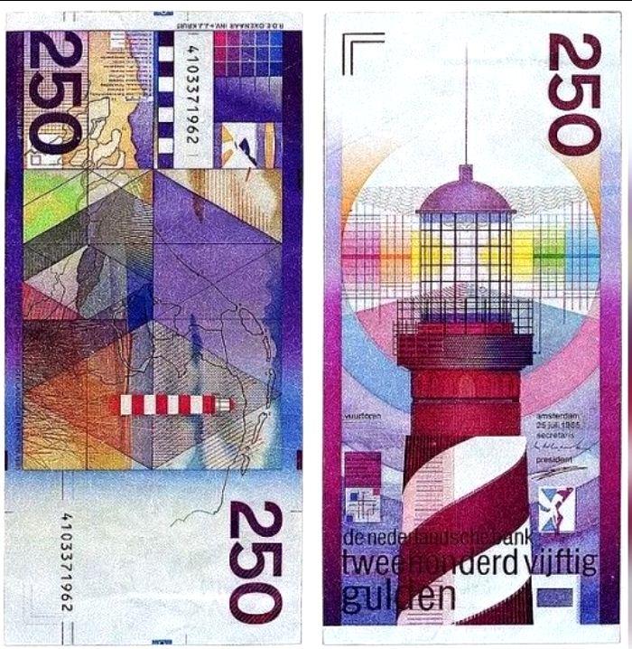 El billete con más color