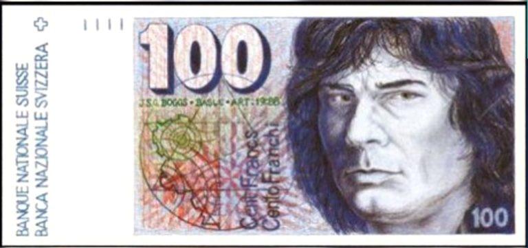 Los billetes pintados