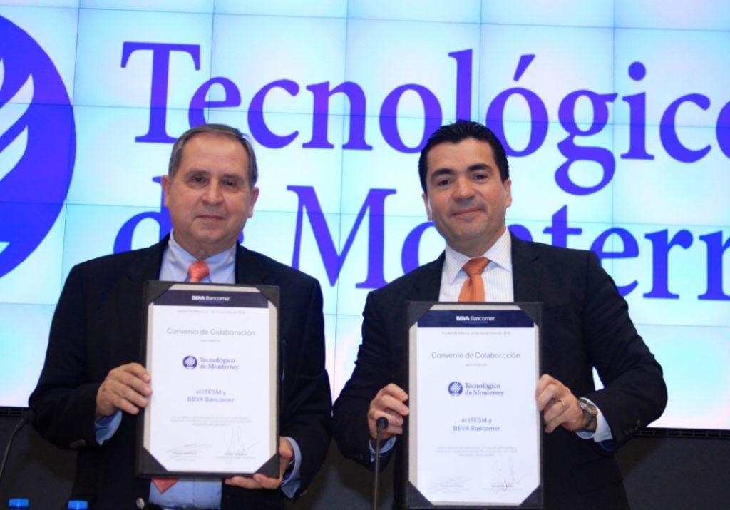 Firma Convenio BBVA Bancomer Tec de Monterrey
