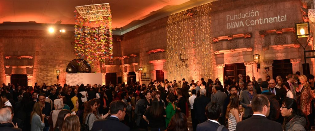 Hay Festival Arequipa: Inauguración muestra Indomable de Morgana Vargas Llosa en casona Tristán del Pozo de la Fundación BBVA Continental