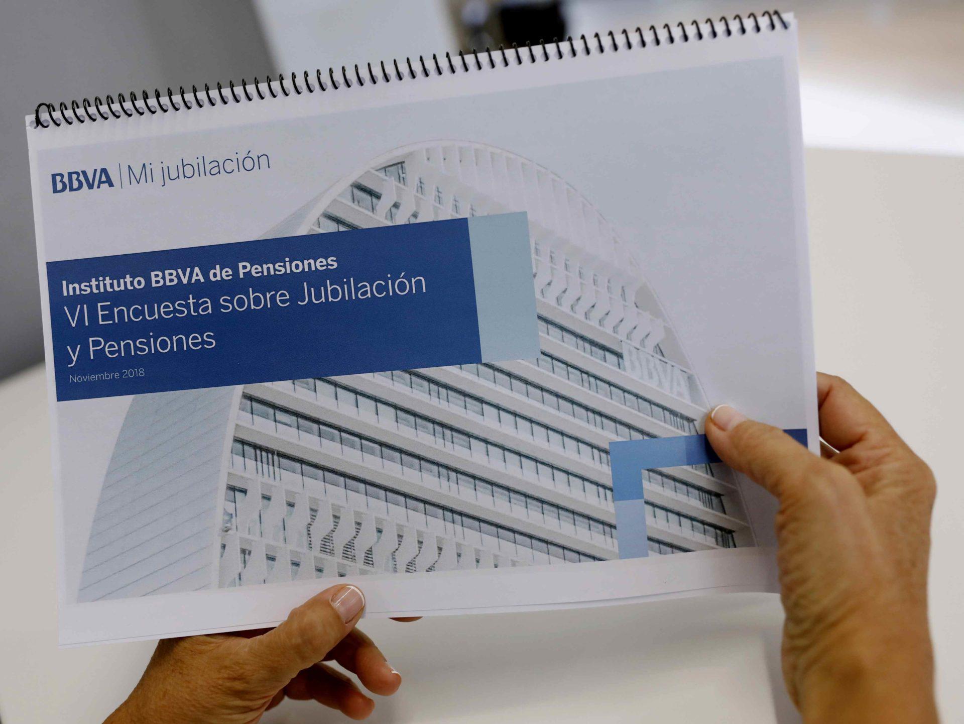 Imagen de Instituto BBVA d epensiones Encuesta 2018