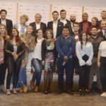 Participantes, jurados y expositores de la clausura de BBVA Momentum