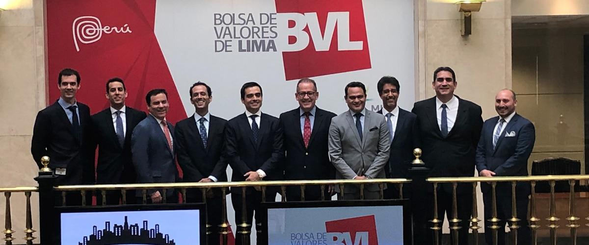 Campanazo en la BVL por primera FIBRA estructurada por BBVA Continental