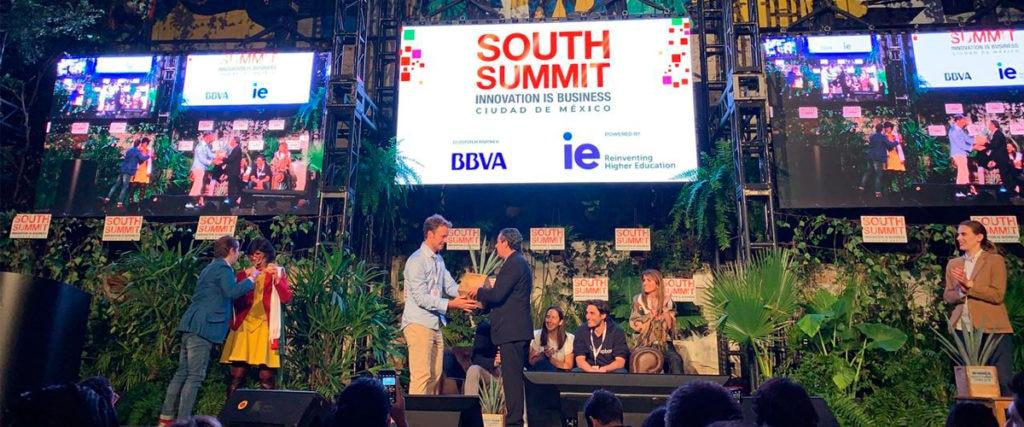 Tink, 'startup' ganadora de BBVA Open Talent Perú 2018, fue premiada en México