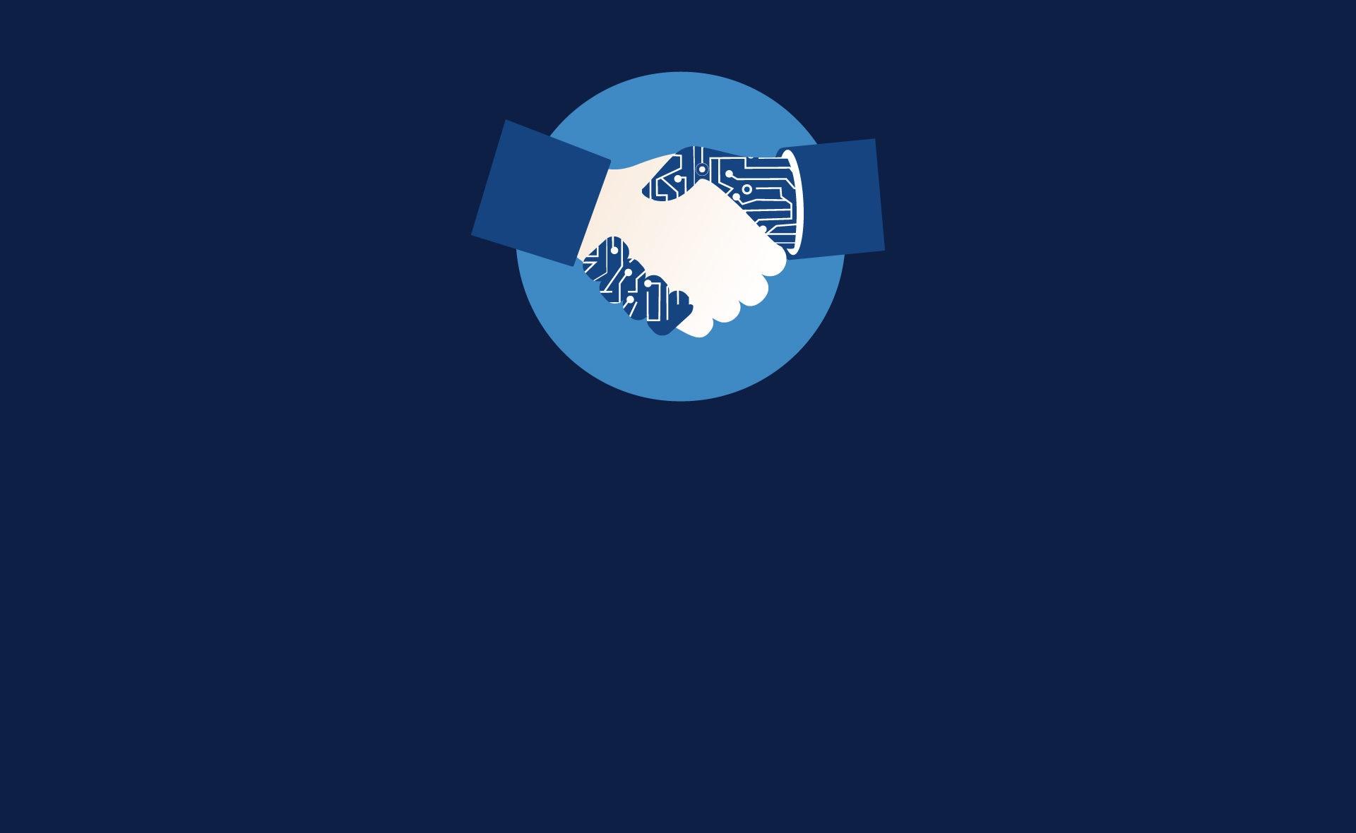 Fotografía de Préstamos, manos, tecnología, blockchain, estrechar manos, pacto, acuerdo, deuda