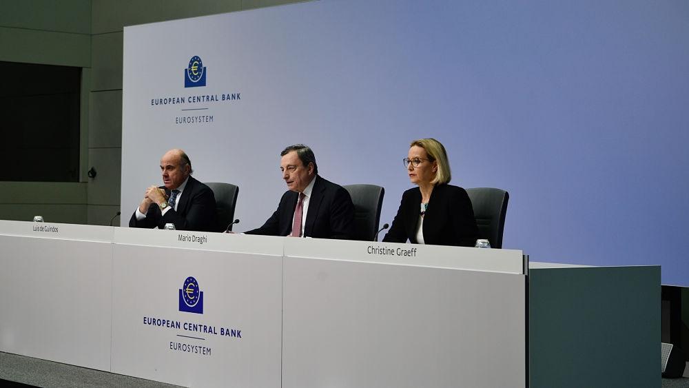 BCE-ECB-Mario-Draghi-Luis-Guindos-reunion-2019-recurso-BBVA