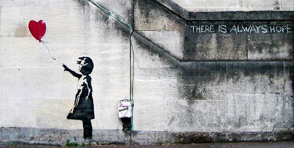 Niña con Globo - Banksy