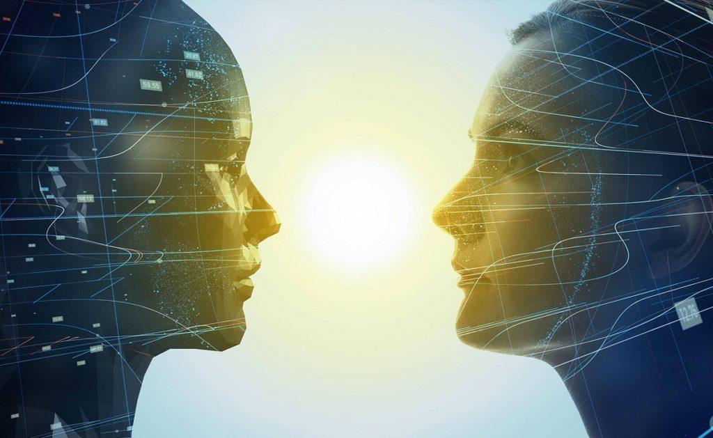 gemelo digital caras enfrentadas espejo recurso bbva