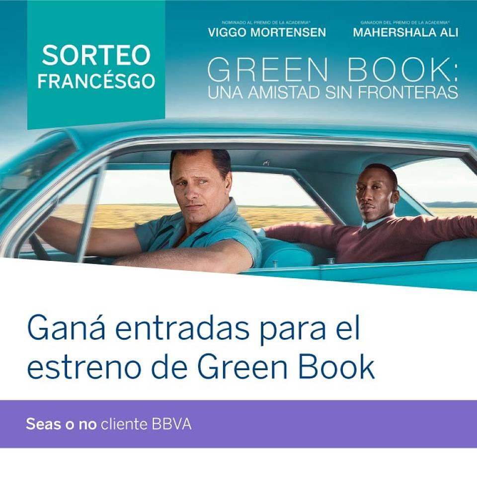 Promoción BBVA Francés Green-Book-Digital