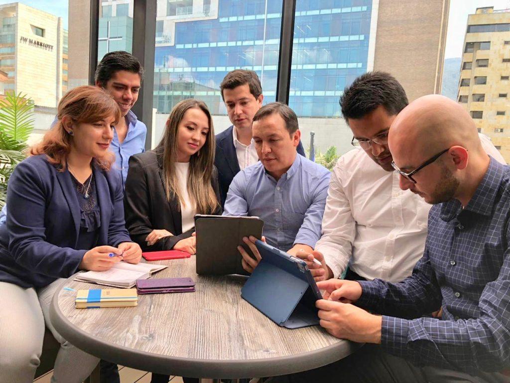 Equipo Open Innovation BBVA Colombia