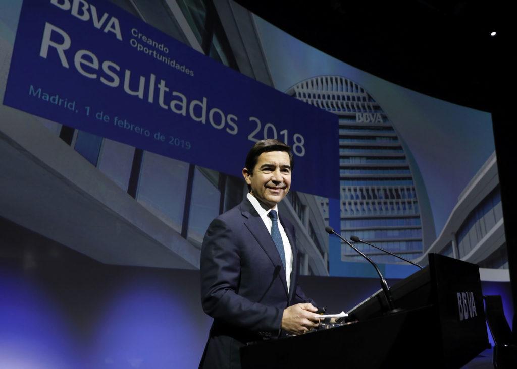 Carlos Torres Vila - presidente BBVA- resultados