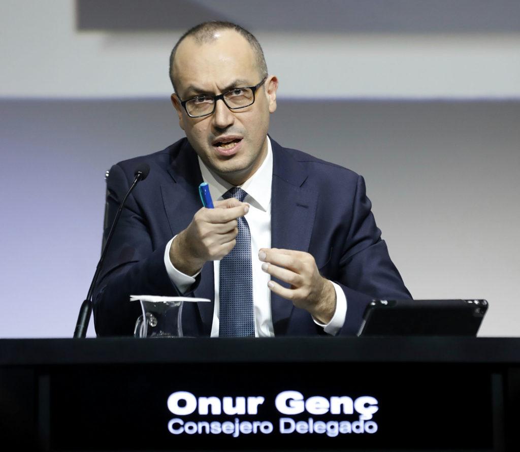 Onur Genç - consejero delegado BBVA - resultados