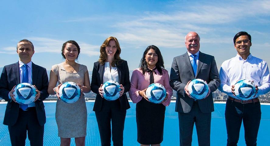 Presentación Balón Liga BBVA Bancomer